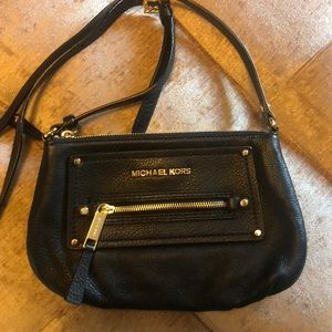 Michael Kors black purse.